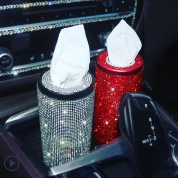 Rhinestone Tissue Holder