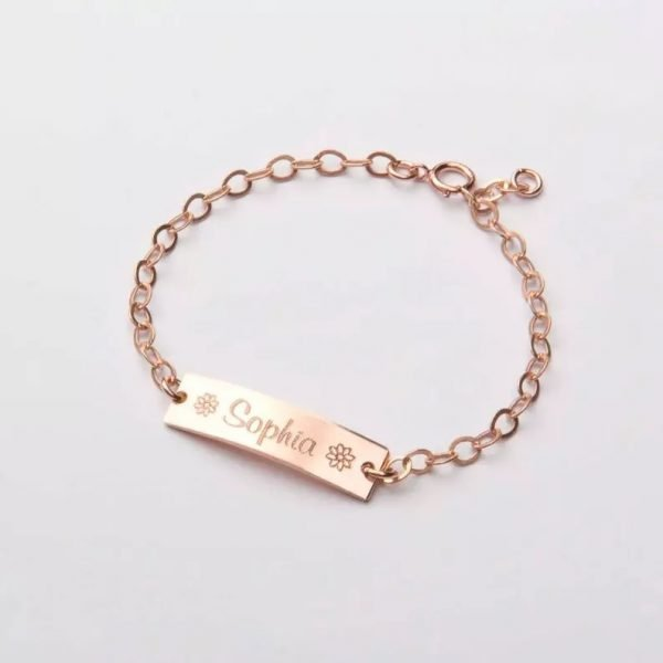 Baby Engraved Bracelets